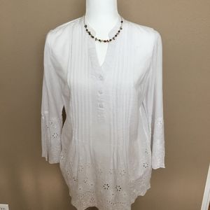 Style and Co white top